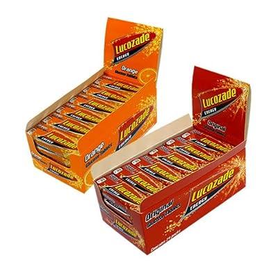 Lucozade Energy Tablet Case 24 (Orange)