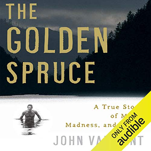 The Golden Spruce audiobook cover art