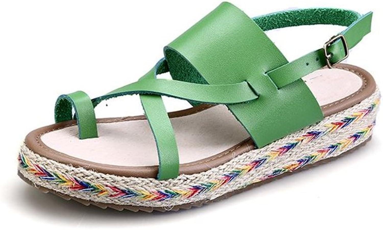 Believed Summer Women Sandals Platform Heel Soft Comfortable Wedge shoes Casual Sandals