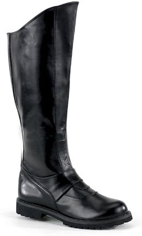 Superhero Gotham Black Costume Boots