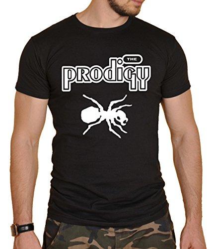 The Prodigy Herren T-Shirt Schwarz Schwarz  Gr. X-Large, Schwarz