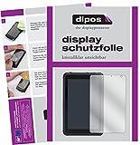 dipos I 2X Schutzfolie klar kompatibel mit Caterpillar T20 Folie Bildschirmschutzfolie