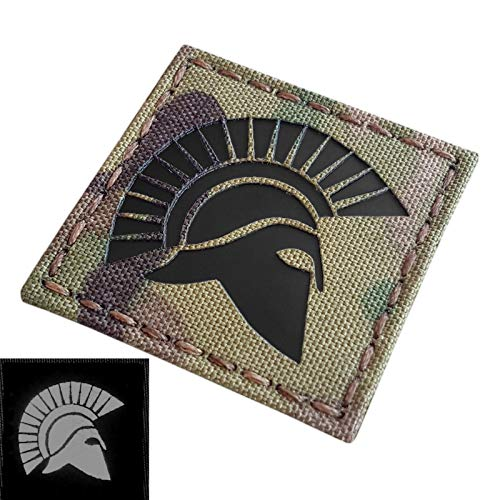 2AFTER1 Molon Labe Shoulder Tab Subdued Spartan 2nd Amendment Army Morale Tactical Fastener Patch