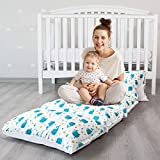 Biloban Kids Floor Pillow Lounger Cover, Cover Only, Non-Slip and Soft Floor Cushion for B...