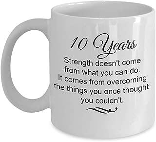 10 year sobriety gift ideas