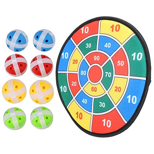 For Sale! VGEBY1 Dartboard Toy Set, Colorful Soft Self-Adhesive Dart Board Game Toy with Balls for K...