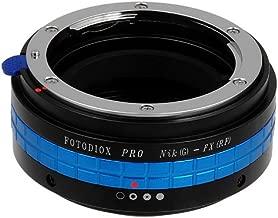 Fotodiox Pro Lens Mount Adapter, Nikon G Lens to Fujifilm X Camera Body (X-Mount), for Fujifilm X-Pro1, X-E1