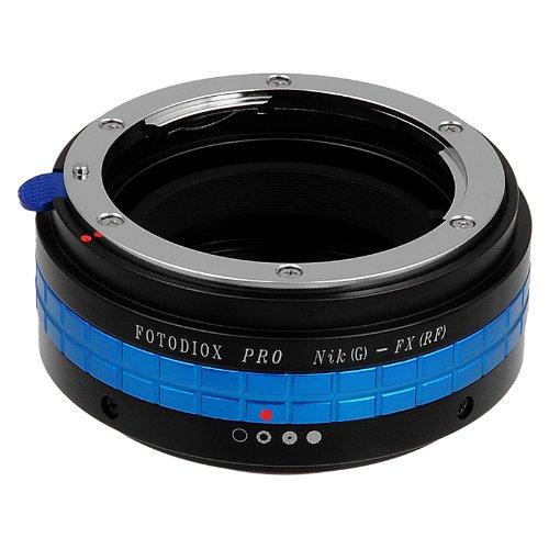 Fotodiox Pro Lens Mount Adapter with Aperture Control, Nikon G, DX Lens to Fujifilm X-Series Mirrorless Digital Cameras