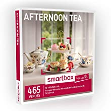 Buyagift Afternoon Tea Gift Experiences Box - 465 traditional afternoon tea experience days