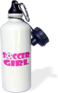 Flip Straw 21oz Water Bottle Funny Cute Pickle Playing Soccer Sports Cartoon wb/_264031/_2 3dRose All Smiles Art Sports and Hobbies