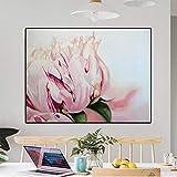 TYLPK Impression sur Toile Abstraite Affiche Aquarelle Fleur Mur Artiste Décoration de La Maison Salon Maison A3 50x70 cm