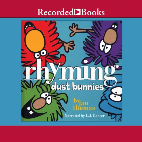 Rhyming Dust Bunnies audiobook cover art