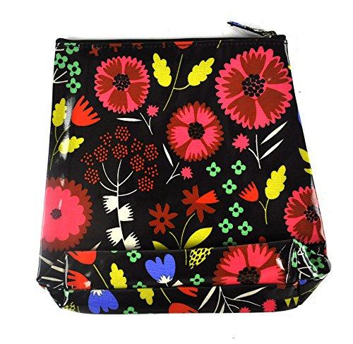 Night-time Flower Garden - Tall Make Up Bag / Wash Bag