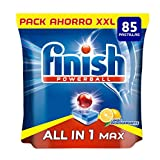 Finish Tutto in 1 plus lavastoviglie Gel limone 85 Pastillas...