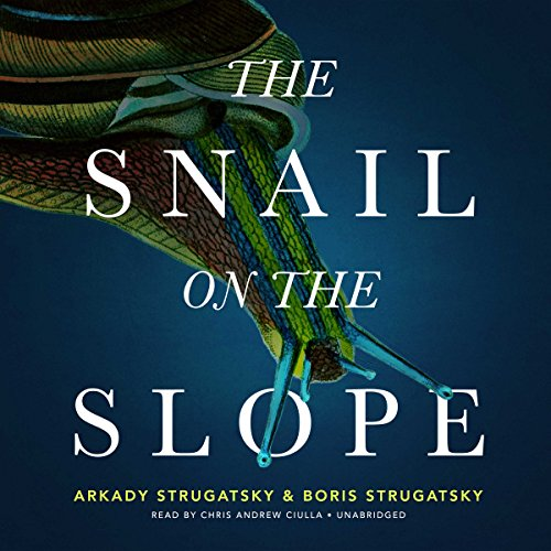 The Snail on the Slope audiobook cover art
