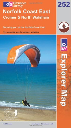 OS Explorer map 252 : Norfolk Coast East