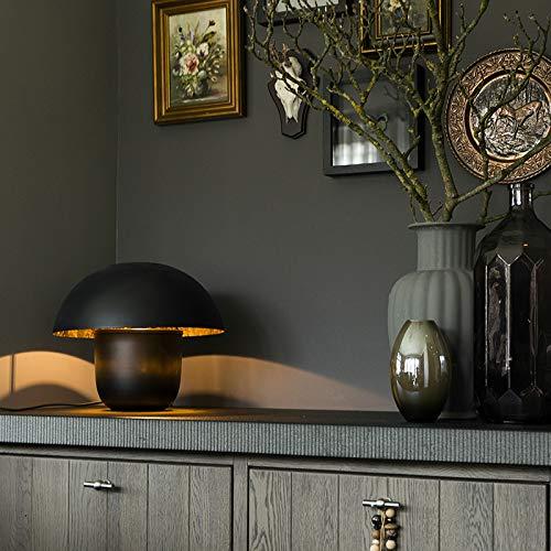Qazqa Lampe de table | Lampe à poser Moderne Design - Canta Lampe Noir Doré - E27 - Convient pour LED - 1 x 40 Watt