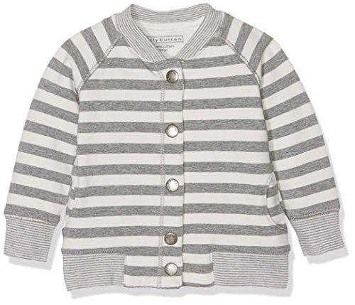 Bellybutton Kids Bellybutton Kids Baby-Jungen Sweatjacke 1/1 Arm Langarmshirt, Mehrfarbig (Y/D Stripe 0001), 62