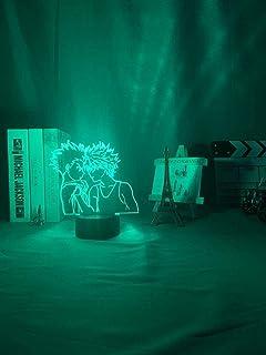 Stijlvolle 3D Nachtlampje Hunter X Hunter Anime Lamp Gon Freecss voor Slaapkamer Decor Licht Kids Kind Verjaardagscadeau K...