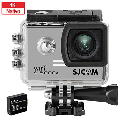 SJCAM SJ5000X Elite action camera (Wi Fi integrado, 4K, pantalla de 2''...