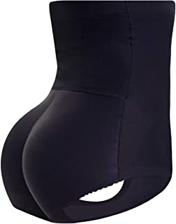 Everbellus Womens Butt Lifter Shapewear with Tummy Control Padded Panties Hip Enhancer