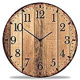 GRAVURZEILE Orologio da parete in legno Nature Love, 100%...