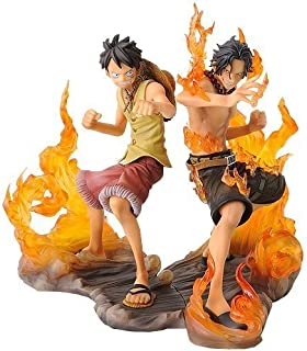 Japan lottery One Piece DX Figure Brotherhood ONE Piece Ability Animation Prize Banpresto All Two Full Set