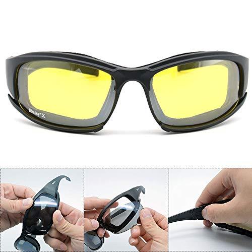 Raitron - Gafas de Sol polarizadas Militares,...
