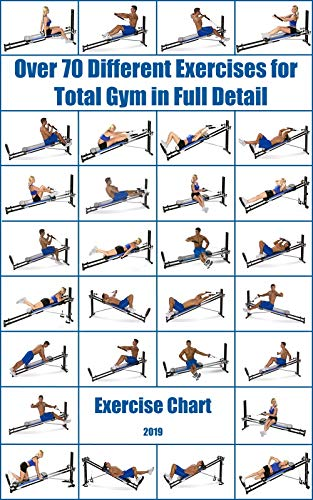 Over 70 Different Exercises for Total Gym in Full Detail: Exercise Chart