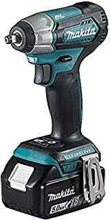 Makita DTW180RTJ 18V Li-ion LXT Brushless Impact Wrench Complete with 2 x 5.0 Ah Li-ion Batteries and Charger Supplied in ...