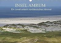 Insel Amrum - Ein Juwel unterm norddeutschen Himmel (Wandkalender 2022 DIN A3 quer): Die Insel Amrum liegt im nordfriesischen Wattenmeer und ist mit einer faszinierenden Natur eine der schoensten Inseln in der Nordsee (Monatskalender, 14 Seiten )