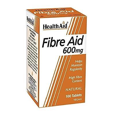 HealthAid Fibre Aid 600mg - 100 Vegan Tablets