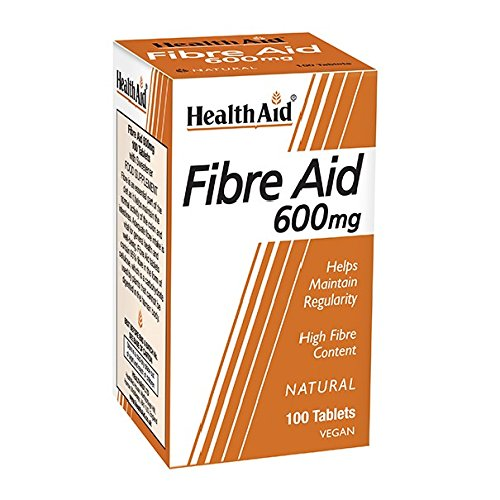 HealthAid Fibre Aid 600mg - 100 Vegan Tablets