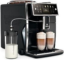 Saeco SM7580/00 Xelsis automatyczny ekspres do kawy, 12 specjałów kawowych (wyświetlacz LED z przyciskami bezpośredniego...