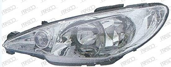 Domilay/Couvercle de Lentille de Phare Avant de Voiture Phare de Remplacement pour Phare de Phare pour Peugeot 307 2008 2009 2010 2010 2011 2012 2013