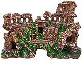 VJRQM Decoración De Resina para Acuario De Pecera - Castillo Europeo Vintage Hermoso Adorno De Resina Duradera para Acuario Decoración De Pecera para Tienda