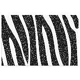 DLJIYZX Felpudo Alfombras de Piso de Grano Blanco y Negro Entrada Alfombra Antideslizante de PVC Alfombra de Cocina Alfombra de baño Alfombra Alfombra 40X60CM