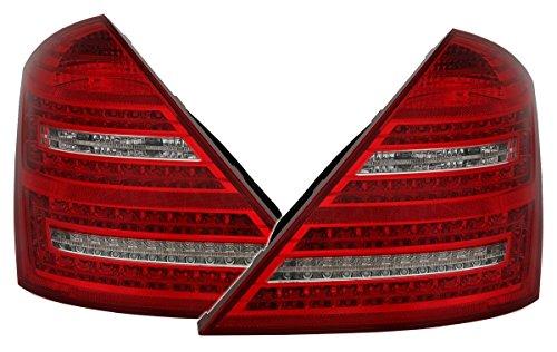 Jeu de feux arrière à LED, aspect Facelift, rouge/blanc