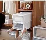caja de almacenaje cajas apilables de almacenamiento Caja de Almacenaje con Tapa Transparente,plastico Tipo de cajón ,Utilizado en el dormitorio del armario de la oficina en casa,reutilizable