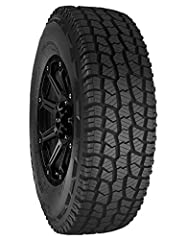 Proven tread pattern designed for performance in on and off-road Sipping and groove design enhance traction by creating more gripping and biting edges Aggressive design and large voids to effectively navigate rough conditions Enhanced tread design in...