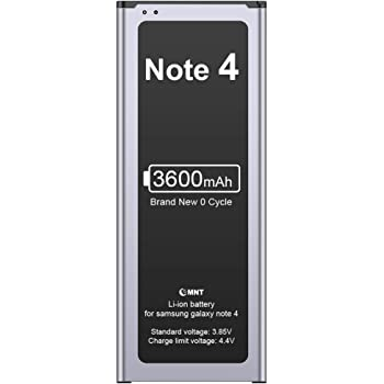 6980 mAh Li-Ion Battery Replacement Spare Battery for Samsung Galaxy Note 4 N9100 SM-N910V Phone Note 4 Battery