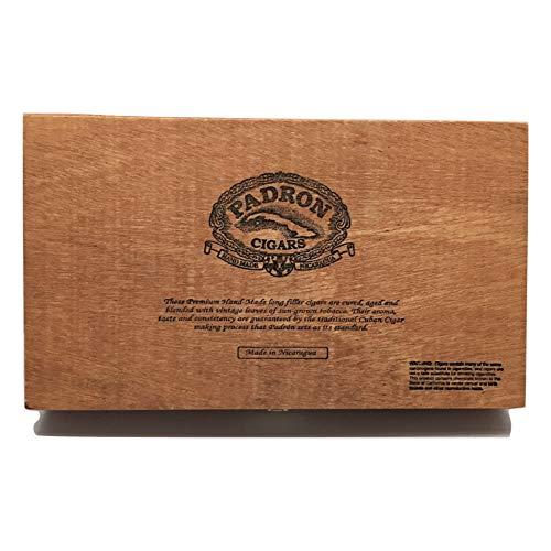 Padron Premium Wood Empty Cigar Box Case for Crafts Guitars Storage (Padron 3000)