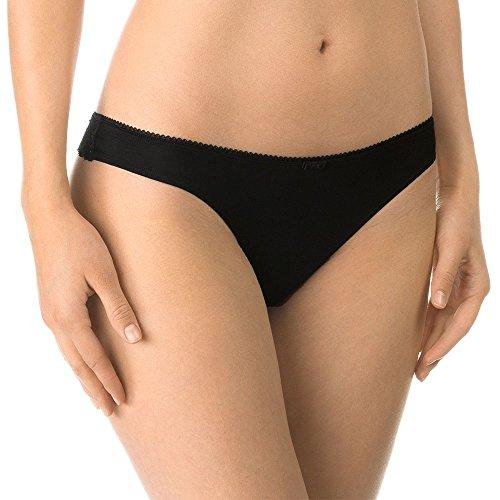 CALIDA Damen Unterhosen Sweet Secrets String, Schwarz, 44-46