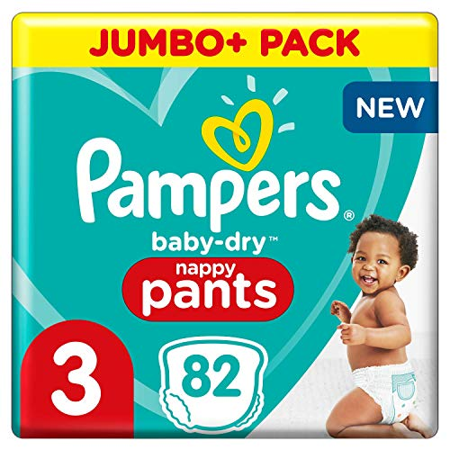 Pampers 81714234 Baby-Dry Pants windelhose, weiß