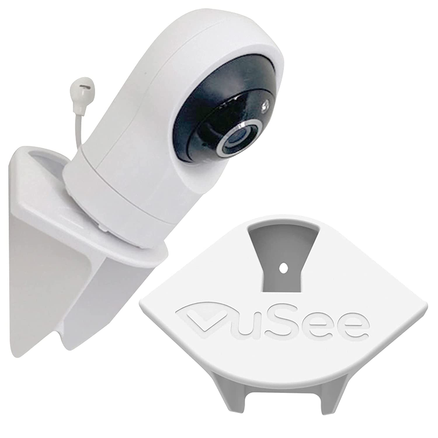 The New VuSee! | VuSee Anywhere | Universal Baby Monitor Shelf | Universal Mount | Compatible with Most Baby Monitors | Safe Cord Management | Easy Installation