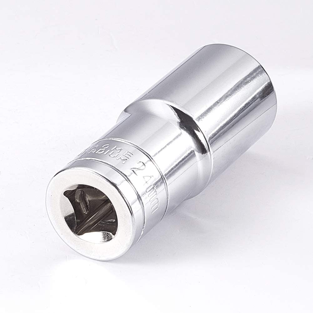 Utoolmart 3//8-inch Drive 6-Point Shallow Socket Set 8mm-22mm Metric Cr-v 10 Pcs