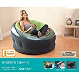Unik Always Inflatable Chair Beanless Bean Bag Chair Sofa Couch Cover Dorm Lazy Empire Seat