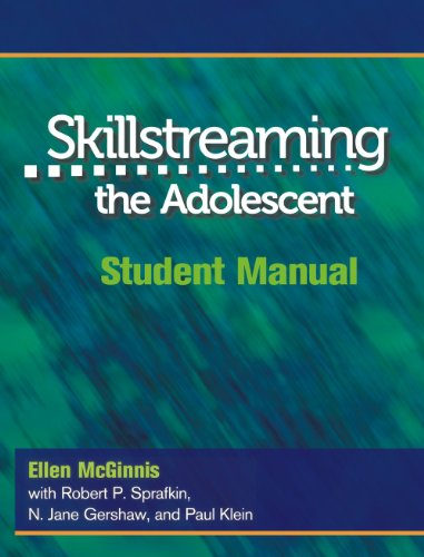 Skillstreaming the Adolescent: Student Manual