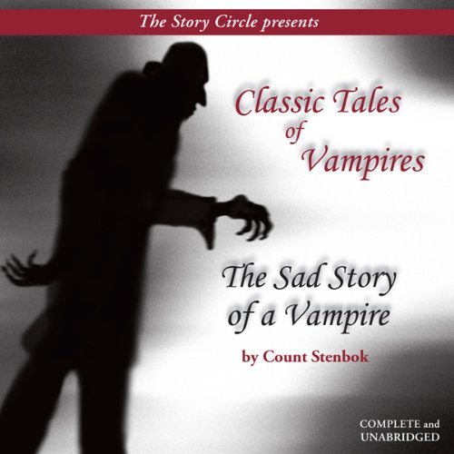 The Sad Story of a Vampire audiobook cover art