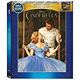 Disney Cinderella 2015 4k Ultra Hd + Blu-ray Limited Edition Best Buy Steelbook